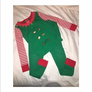Other - Toddler Elf Pajamas